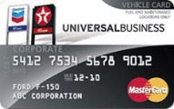 Chevron and Texaco Universal Business MasterCard®