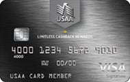 USAA Limitless™ Cashback Rewards Visa Signature® Credit Card