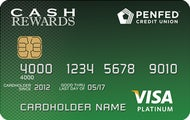 PenFed Platinum Cash Rewards Visa® Card