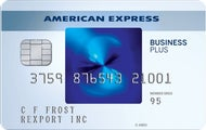 Blue Business Plus card from American Express
