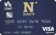 USNA Alumni Association & Navy Athletics USAA Rewards™ Visa Signature® Card