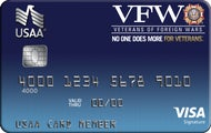 Veterans of Foreign Wars USAA Rewards™ Visa Signature® Card