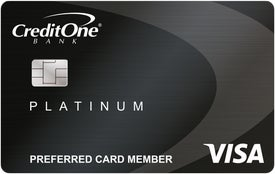 Credit One Bank® Visa® Cash Back Rewards