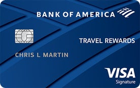 Bank of America® Travel Rewards Visa® credit card
