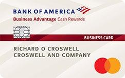 Bank of America Business Cash Rewards card