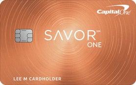Capital One SavorOne Cash Rewards Credit Card