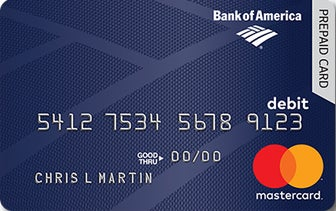 Bank of America Consumer Payments Prepaid Card Bankrate