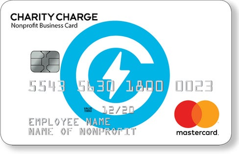 Charity Charge Nonprofit Business Card