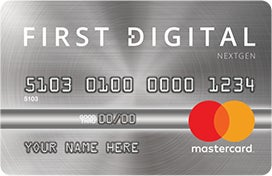 First Digital NextGen Mastercard® Credit Card