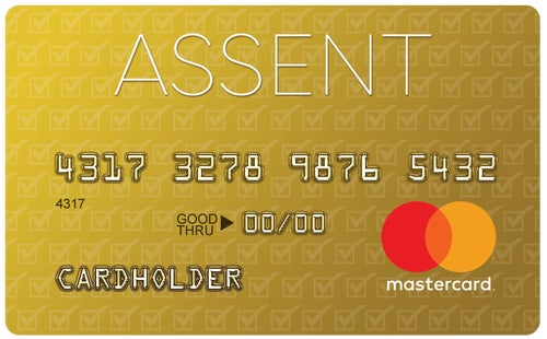 Assent Platinum 0% Intro Rate Mastercard® Secured Credit Card