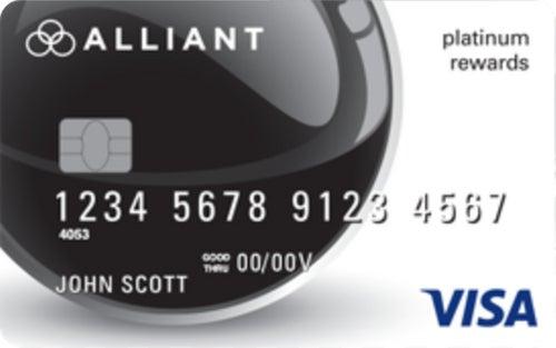 Alliant Visa® Platinum Rewards Credit Card