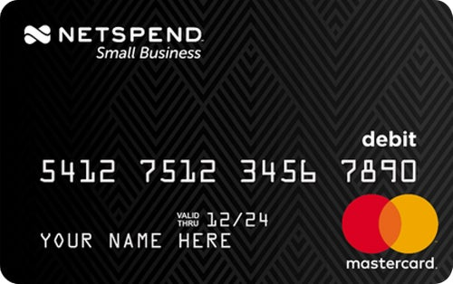 Netspend® Small Business Prepaid Mastercard®