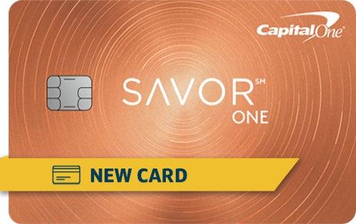 Capital One SavorOne Student Cash Rewards Credit Card