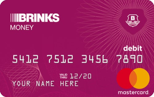 Brink's Money Prepaid Mastercard®