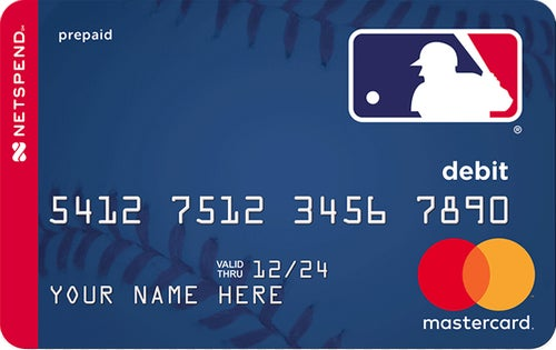 Netspend® Prepaid Mastercard® - Proud Partner of MLB®
