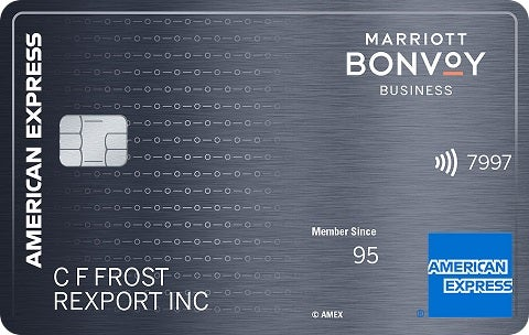 Marriott Bonvoy Business™ American Express® Card review