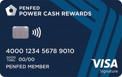 PenFed Power Cash Rewards Visa Signature® Card review