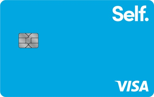 Self - Credit Builder Account + Secured Visa® Credit Card