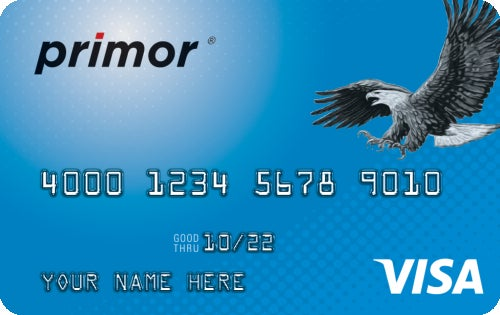 Green Dot primor® Visa® Classic Secured Credit Card