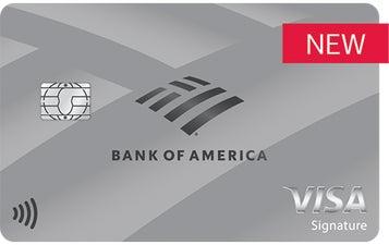 Bank of America® Unlimited Cash Rewards Secured credit card