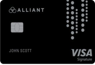 Alliant Cashback Visa® Signature Card