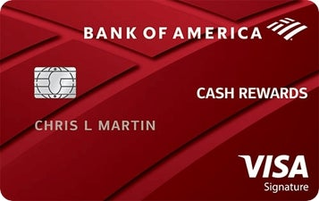 Bank of America® Cash Rewards for Students credit card